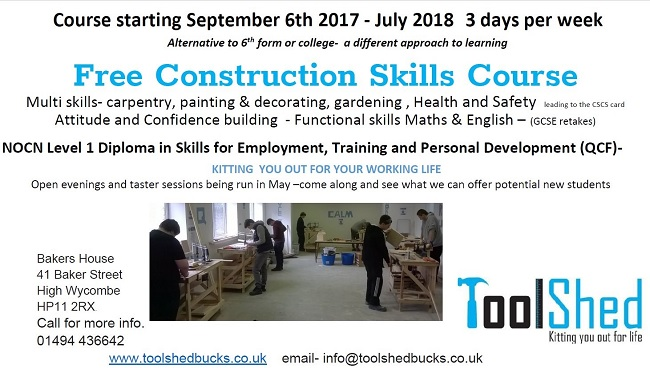 ToolShed Course 2017