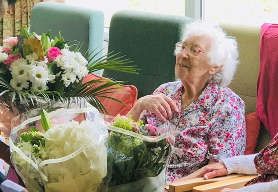 Gwen Snook, 106, birthday