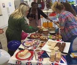 Dementia Awareness cake sale
