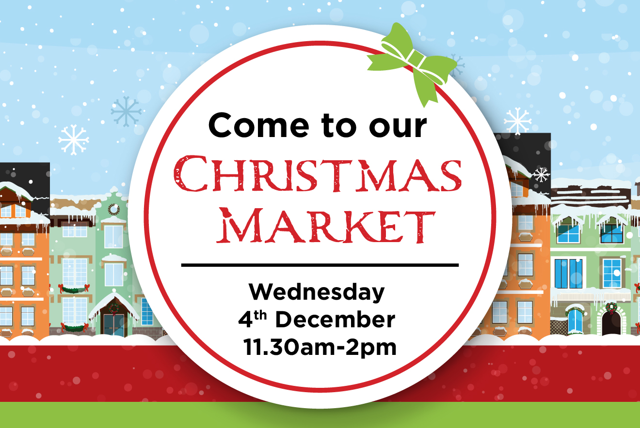 Come to our Christmas Market